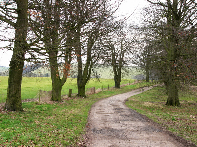 Track from South Farm to Upper Barns