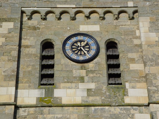 The Church Clock, Etton