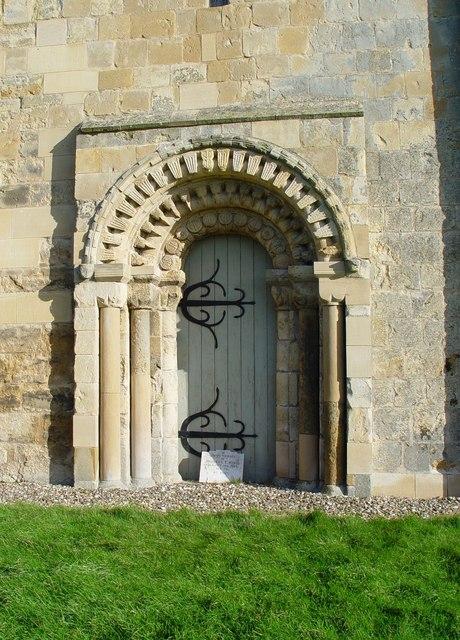 A Doorway, St Mary's Church, Etton