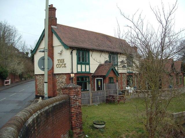 The Cock Inn, Long John Hill, Old Lakenham