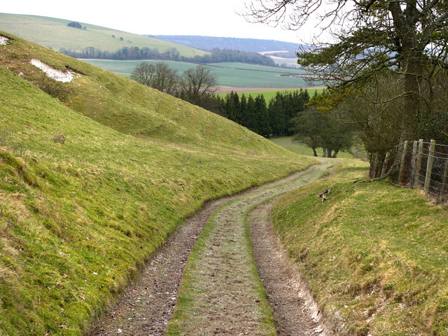 Track on Hyden Hill