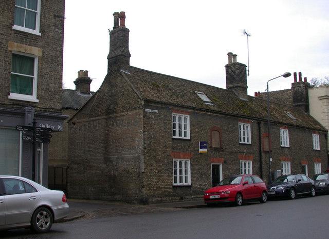 Former Jakenett Almshouses, King Street