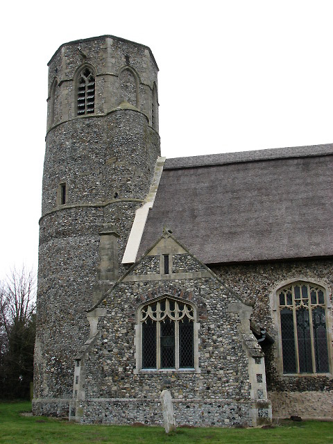 St Peter's church - tower and south porch