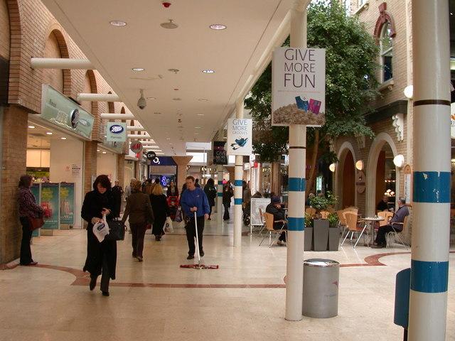 Inside the Grafton Centre