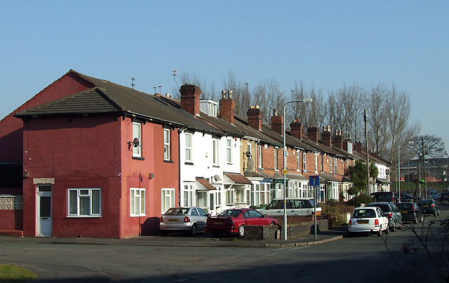 Terraced Houses by the Canal, Wolverhampton