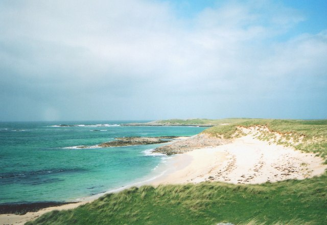 Beach in far south-west of Coll