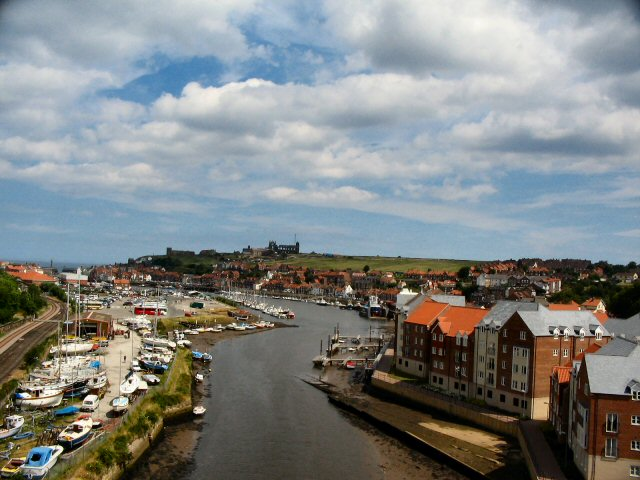 The River Esk Whitby