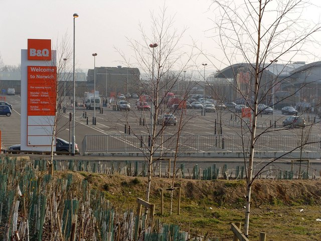 B&Q Superstore, Hall Road, Norwich