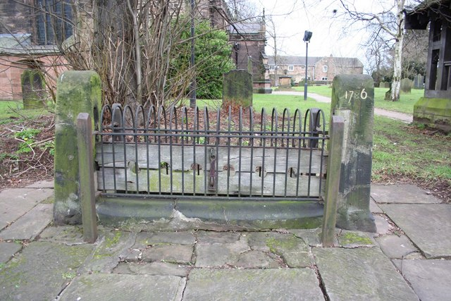 Whiston village stocks