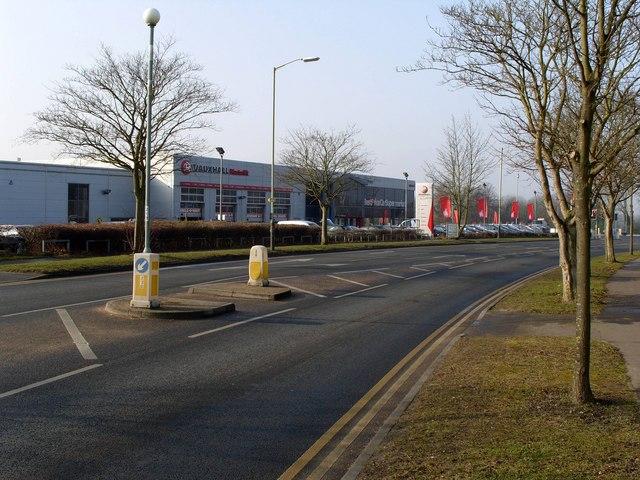 Hartwell's Vauxhall Showroom and Garage