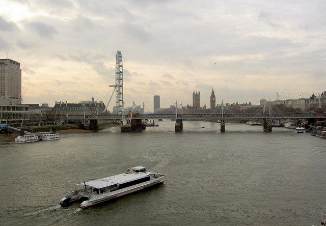 Westminster from Waterloo Bridge