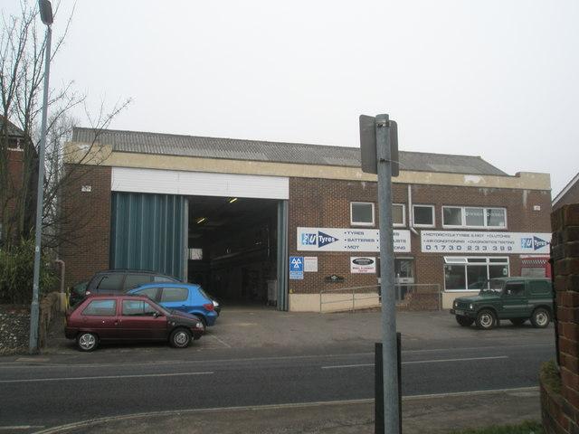Former Southdown Bus Garage