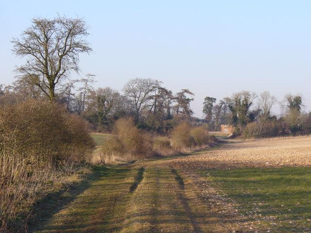 Footpath to Willesley Warren Farm