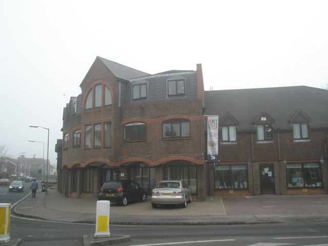 Art and craft shop on Station Road
