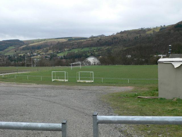 Football pitch, Llangollen