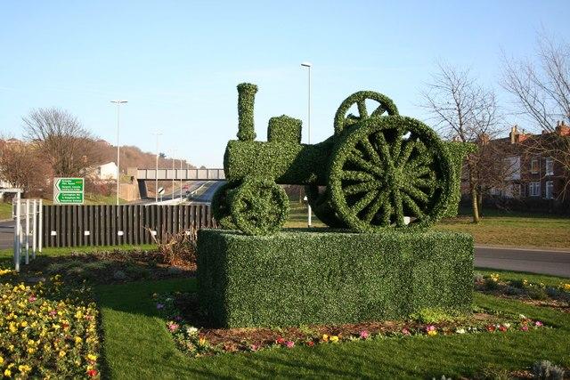 Gainsborough topiary
