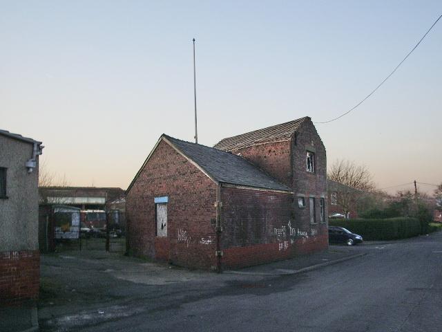 Building on Carluke Street, Blackburn