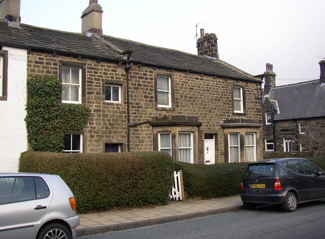 Houses, Main Street, Burley in Wharfedale