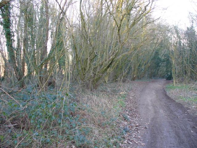 The Harroway North-west of Overton