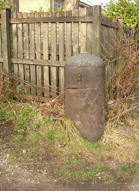 Iron post, Iron Row, Burley in Wharfedale