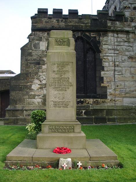 St Leonard's Parish Church, Middleton, War Memorial