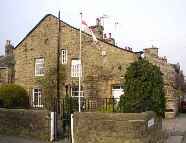 17C house, Main Street, Burley in Wharfedale