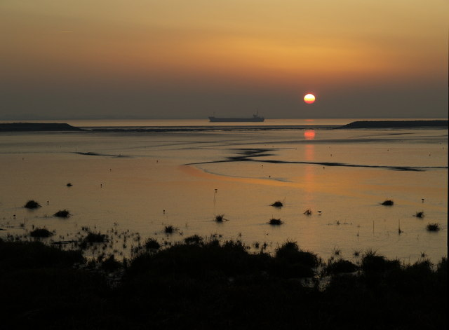 Paull Lagoon Sunset