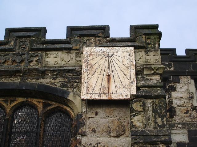 St Leonard's Parish Church, Middleton, Sundial