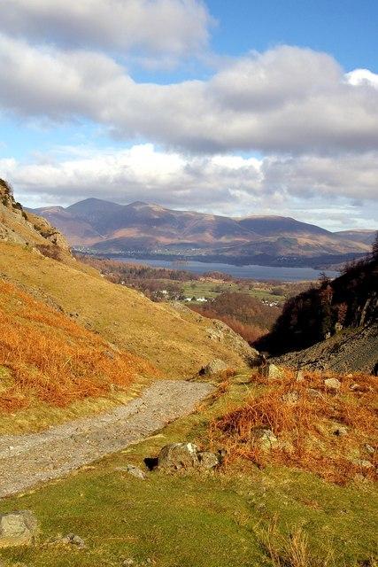Near Castle Crag