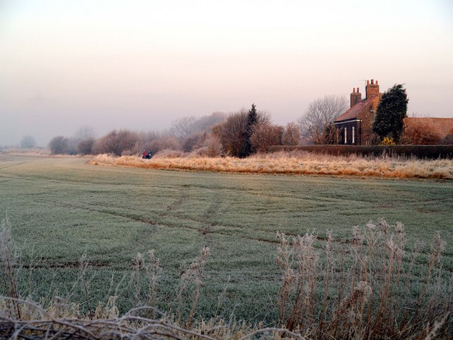 Harbour Farm in the Frost