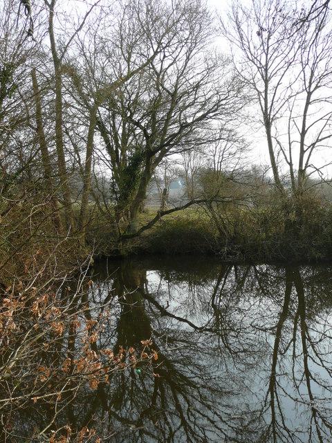 Furnace pond by Bishop's Lane