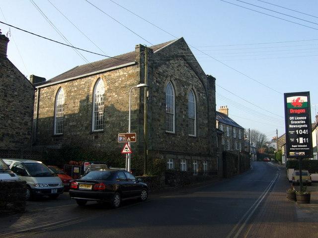 Bethlehem Baptist chapel, rear view