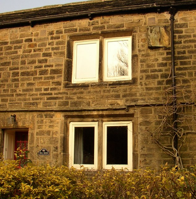 Sundial on Dial House, Main Street, Burley in Wharfedale