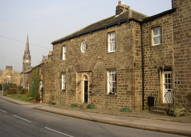 House with flat arch, Main Street, Burley in Wharfedale