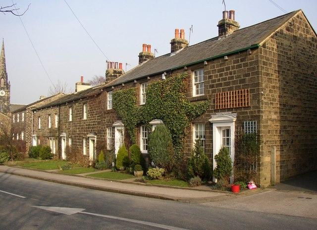 Houses, Main Street, Burley in Wharfedale