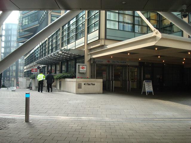 City Thameslink Station