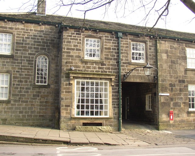 Entrance to Post Office Yard, Main Street, Burley in Wharfedale