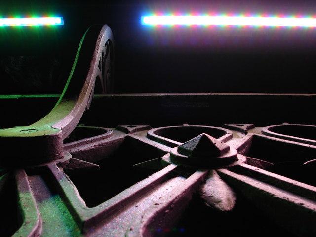 Detail of Ironwork and Illuminations on Bothwell Bridge