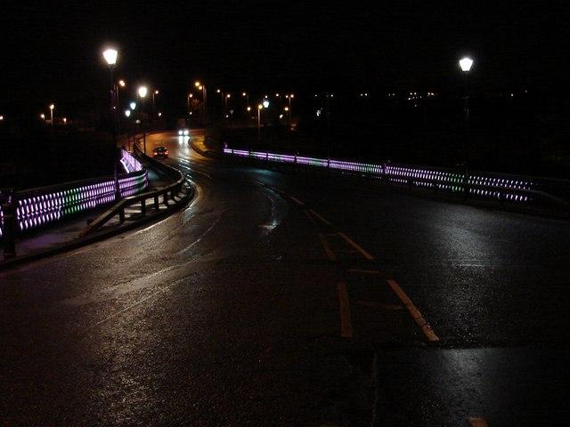 Bothwell Bridge Illuminated