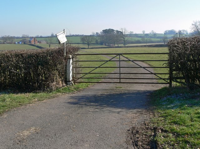 Entrance to Stretchnook Farm