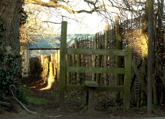 A stile, as viewed from Crow Green Lane