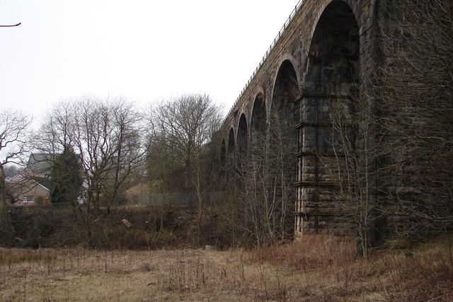 Viaduct at Cleland