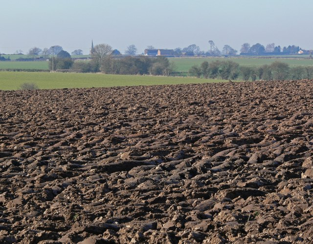 Ploughed field north of the A47 Hinckley Road