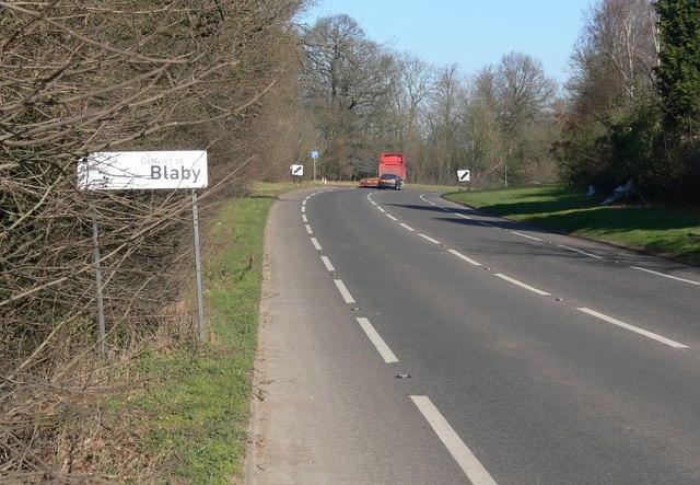 A47 Hinckley Road towards Leicester