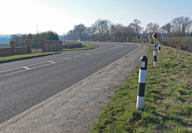 A47 Hinckley Road towards Earl Shilton