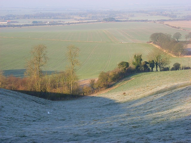 Downland, Lower Upham