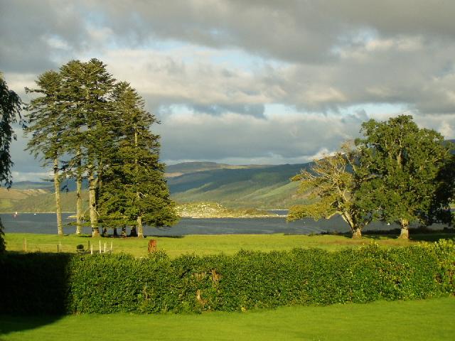Loch Fyne from Minard Castle
