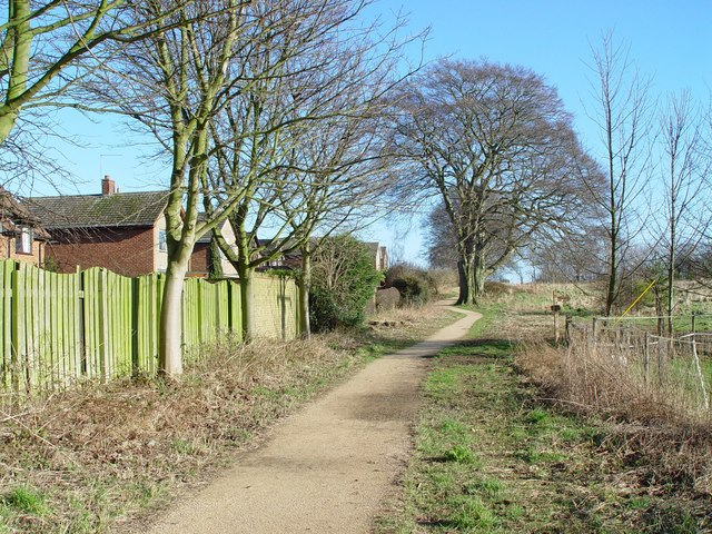 Footpath in Walkington