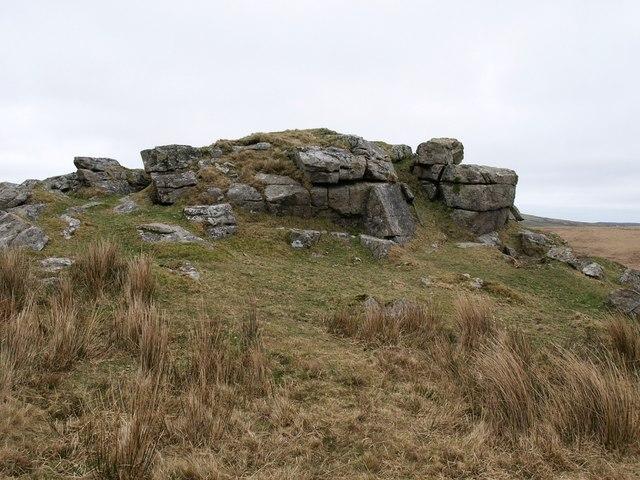 Rock on Bodmin High Moor