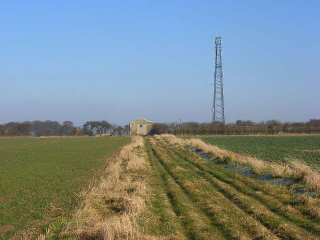Mast on Whitefield Hill